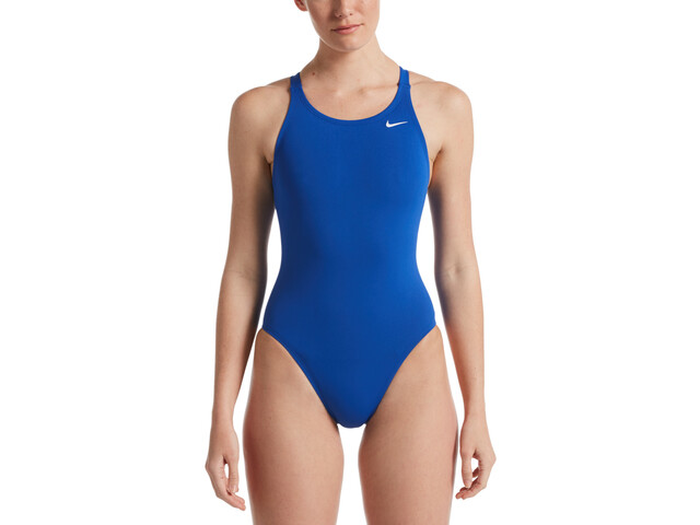 Nike Swim Hydrastrong Solids Fastback One Piece Badpak Dames, game royal